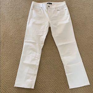 NEW Ann Taylor white jeans
